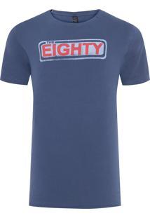 Camiseta Masculina The Eighty - Azul