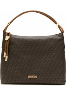 Michael Michael Kors Bolsa Shoulder Lexington - Marrom