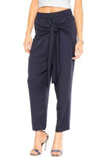 Calça Colcci Pijama Azul-Marinho