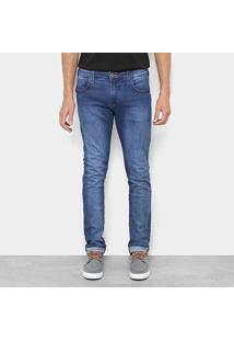 Calça Jeans Triton Slim Fit Masculino - Masculino-Jeans