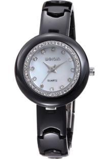 Relógio Weiqin Analógico W3206 Branco