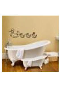 Adesivo Decorativo Para Box De Banheiro Pato / Patinhos - Medio