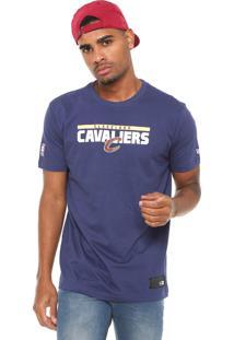 Camiseta New Era Cleveland Cavalers Azul-Marinho