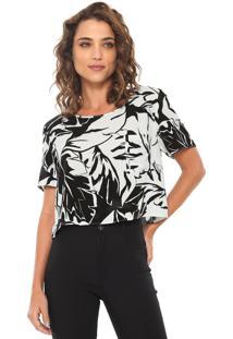 Camiseta Lez A Lez Bali Preta/Branca
