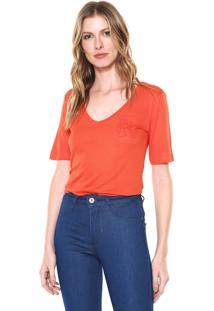 3c48c616e9435 Camiseta Bordada Calvin Klein feminina   Shoelover