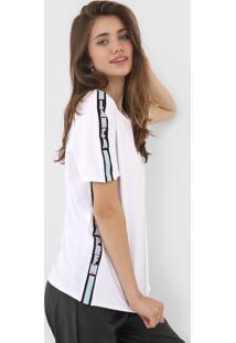 Camiseta Lanã§A Perfume Logo Branca - Branco - Feminino - Algodã£O - Dafiti