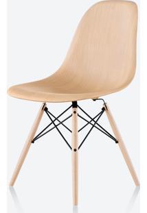 Cadeira Eames Dsw - Amadeirada Madeira Escura