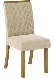 Cadeiras Para Cozinha Vega Nature/Linho - Henn