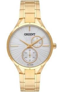 Relógio Orient Feminino Unique Analógico - Feminino-Dourado