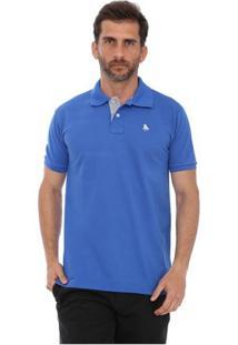 Camisa Polo England Polo Club Casual - Masculino-Azul Royal