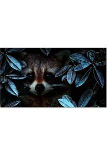 Quadro Decorativo Animal Na Floresta - Unico - Dafiti