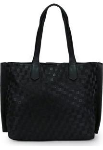 Bolsa Shopping Bag Ana Hickman Preto
