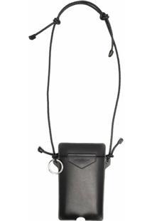 Givenchy Bolsa Tiracolo Com Acabamento Polido - Preto