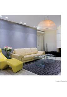Lustre De Tecido Para 3 Lâmpadas E27 60W Acropole Branco Taschibra