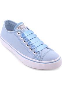 Tênis Capricho Likes Lace Feminino - Feminino-Azul