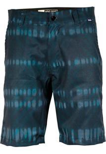 Bermuda Tecido Wg Hibrida Dye Azul