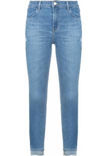 J Brand Calça Jeans 'Alana' - Azul