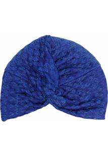 Missoni Mare Chapéu Texturizado Metálico - Azul