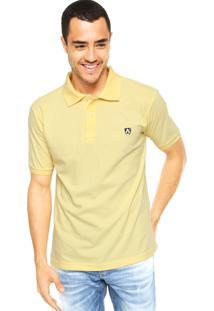 Camisa Polo Mr. Kitsch Vauvert Amarela