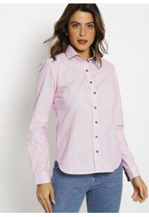 Camisa Listrada- Rosavip Reserva