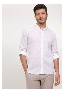 Camisa Comfort Em Voal