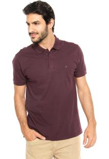 Camisa Polo Aramis Sample Roxa