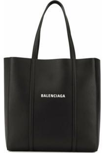 Balenciaga Bolsa Tote Everyday Pequena - Preto