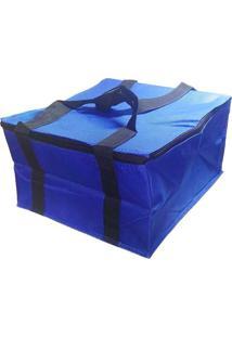 Bolsa Térmica Lancheira Fitness 12 Litros Azul