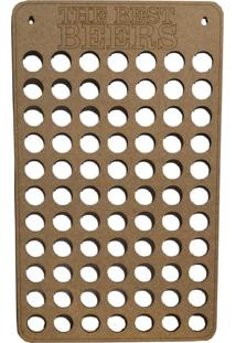 Quadro Porta Tampinhas D'Rossi 30X50 Bege
