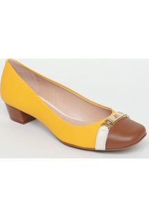 4a43350fc1 Sapato Couro Marrom feminino