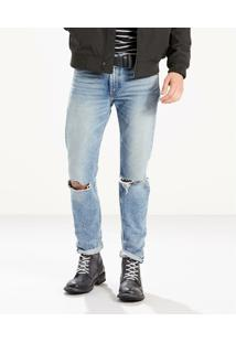 Calça Jeans Slim Levis - Masculino-Azul
