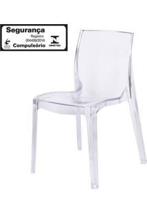Cadeira Femme Fatale Policarbonato Transparente - 16304 Sun House