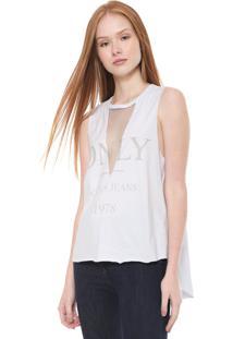 Regata Calvin Klein Jeans Tule Branca