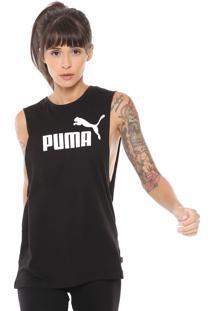 Regata Puma Essentials Preta