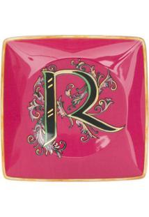 Versace Home Cinzeiro Com Estampa Barroca - Rosa