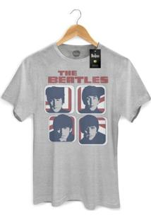 Camiseta Bandup - Bandas The Beatles Hard Days Night England Basic