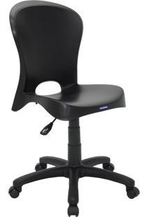 Cadeira Com RodãZio Jolie- Preta- 61,5X57X55Cm- Tramontina