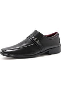 Sapato Social Elegante La Faire Preto