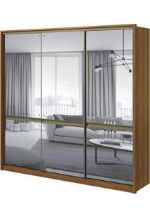 Guarda-Roupa Urban Com Espelho - 3 Portas - 100% Mdf - Rovere Naturale