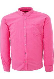 Camisa Vr Color Tricoline - Masculino