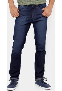 Calça Jeans Fatal Slim Fit Estonada Masculina - Masculino