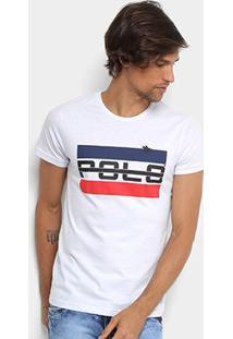 Camiseta Rg 518 Logo Vintage Masculina - Masculino-Branco