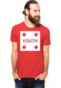Camiseta Rgx Youth Vermelha