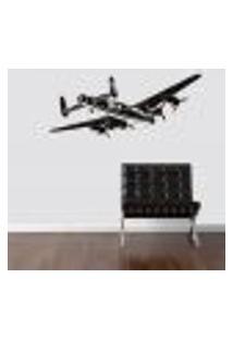 Adesivo De Parede Avião De Bombardeio E Transporte - Eg 238X98Cm
