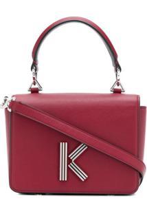 Kenzo K-Bag Tote Bag - Vermelho