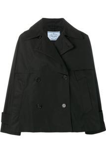 Prada Double Breasted Jacket - Preto