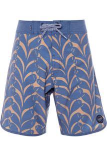 Short Masculino Surf Algas - Azul