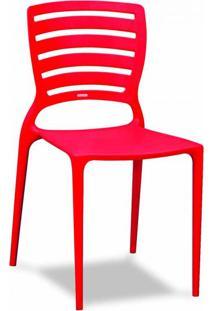 Cadeira Sofia Ii Vermelha