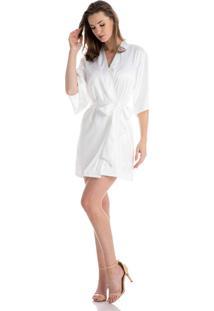 Robe Violeta Branco/Gg