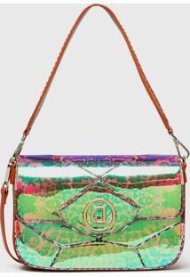 Bolsa Transversal Across Body Bag Kaleid Verde